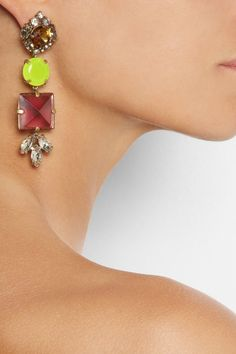 J.Crew | Pablo crystal drop earrings