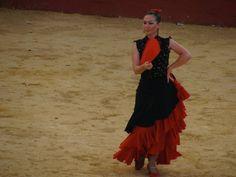 Bullfight in Spain (no bulls were harmed)