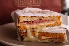 The Autostrada sandwich from Campanile.