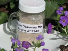 Paula Deen house seasoning recipe.  Use it for fish, chicken, vegetables, ect...