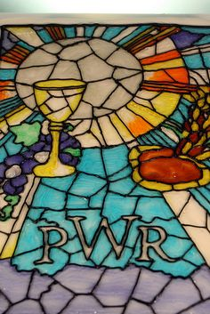 Stained Glass First Communion by marksl110, via Flickr - wow...