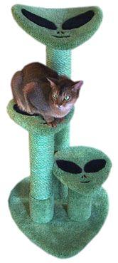 cat furniture, cat towers, pet, cat trees, cat lovers, alien cat
