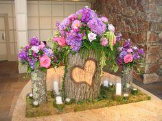 Aranjament de flori rustic