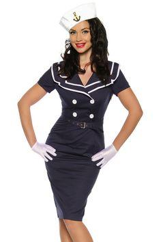 Vestido Vintage Pin Up