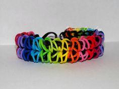 Rhombus Rainbow Loom Bracelet
