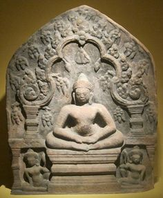 Seated Buddha from the 12th century.