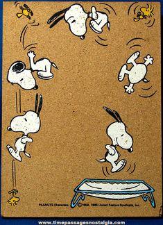 Snoopy & Woodstock trampoline