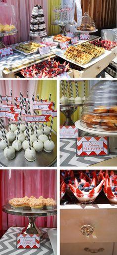 Bridal Shower Brunch + cakepops!