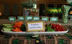 'vegetable farm' tray