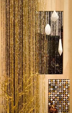 Sequin curtains by Replica