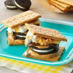 S'Moreos Recipe from Taste of Home -- shared by Christina Smith of Santa Rosa, California