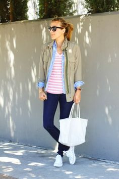 Spring Outfits Inspiring Our Weekend Wardrobe   theglitterguide.com