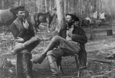 """""""Union Soldiers, 1864: Mathew Brady and his studio artists would create over 10,000 images of the American Civil War. (Photo Credit: Library of Congress)."""""""