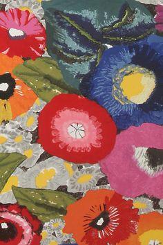 Blazing Poppies Wallpaper - Anthropologie.com
