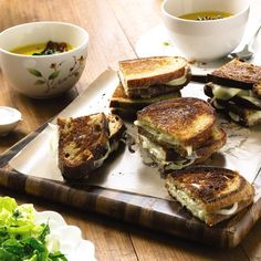Add Chef Nancy Silverton's Classic Grilled Cheese with Onion and Mustard to your recipe playbook