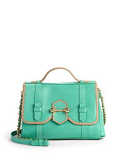 botkier luci, style inspir, colorblock satchelgreen, botkier handbag, style endur, luci colorblock, bag obsess