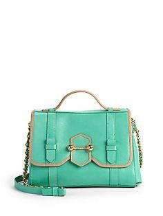 Botkier Lucy Colorblock Satchel/Green botkier luci, style inspir, colorblock satchelgreen, botkier handbag, style endur, luci colorblock, bag obsess