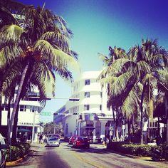 Ocean Drive,Miami Beach Florida