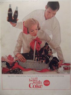 coca cola, cocacola advertis, coke, cocacola christma, cocacola 1964, cola item, cocacola collect, christma 1964
