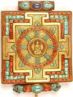 Dharmachakra, Buddhist symbol for the Eightfold Path