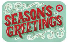 Target Seasons Greetings by Mary Kate McDevitt