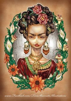 Frida Kahlo by Tim Shumate