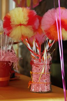 Decoration for Elmo Party