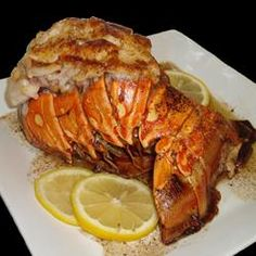 Broiled Lobster Tails Allrecipes.com Broil Lobster, Lobster Tail Recipe, Lobster Tail Allrecipes