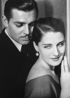 Clark Gable & Norma Shearer. <3