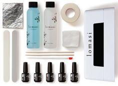 Polish Up: A do-it-yourself gel manicure set.