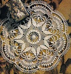 Crochet Art: Doily - Gorgeous Crochet Doily
