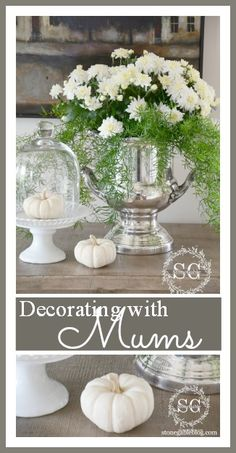Giving the humble mums and upscale makeover!