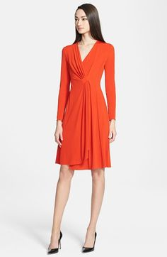 Armani Collezioni Long Sleeve Jersey Dress at Nordstrom.com.  $1275