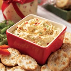 Blue Cheese and Roasted Red Pepper Spread