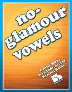 Speech Room News: No-Glamour Vowels-Linguisystems book for childhood apraxia of speech. {review & giveaway ending 2/28} Pinned by SOS Inc. Resources. Follow all our boards at pinterest.com/sostherapy for therapy resources.