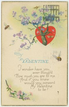 Vintage Valentines Day Postcards from the Early 1900s