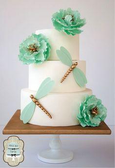 TUTORIAL: Libélulas móviles de fondant » SweetMag cake design, decor cakescupcakescooki, wedding cakes, flower