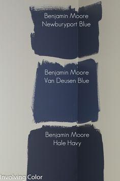 Benjamin Moore navy