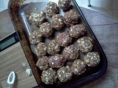 Satin ball recipe for bulking up skinny dogs