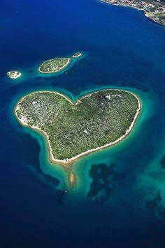 Galešnjak - Island of Love, Croatia