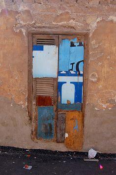 patchwork door, Egypt.