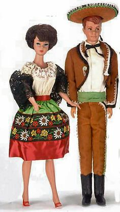 Vintage Barbie In Mexico