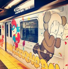 Kaws in NYC