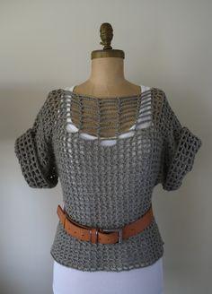 Category - Beautiful: A crochet summer top - tutorial