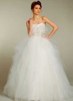 Jim Hjelm Blush Bridal Gowns, Wedding Dresses Style 1156 by JLM Couture, Inc.