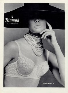 Triumph (Lingerie) 1965 Bra. Triumph is back and making BOMB lingerie!!!!!!!!!!!!!!!
