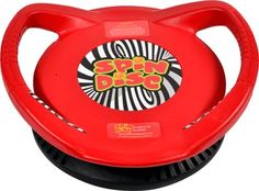 The Spin Disc is like no other rotational devices, the Spin Disc has a larger oblong base that spins freely on an angle. This product is ideal for all children or adults up to 125lbs.