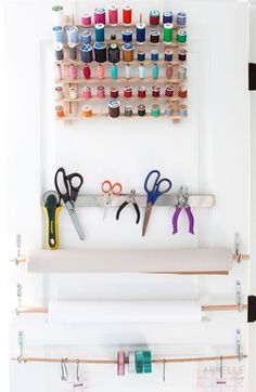 Heart Handmade UK: Craft Room Storage and Organization from Armelle Studio