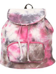 A Tie-Die for Backpack