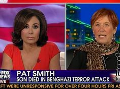 "Pat Smith, the mother of Sean Smith, one of the victims of the 2012 terrorist attacks against the US consulate in Benghazi, Libya reacted to reports from security officers who were on the ground on the night of the attacks that they were told to wait to provide aide to the besieged consulate by saying that Hillary Clinton and President Obama ""killed my kid."""